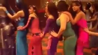 Arabic girls dancing on hindi song
