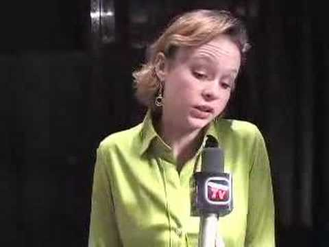 Thora Birch part1 Interview at Fangoria 2007 Video