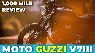 Moto Guzzi V7 III Stone : 1000 Mile Review