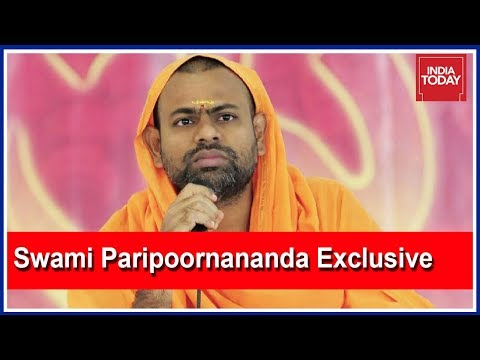 Swami Paripoornananda, BJP's Telangana Face, On People's Court Exclusive
