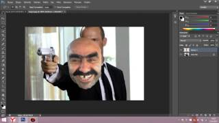 Adobe PhotoShop CS 6 kafa kesimi