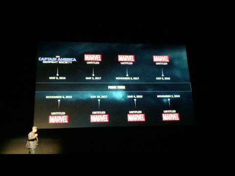 Kevin Fiege Intro To Joss Whedon and Marvel Phase 3!