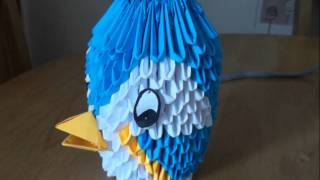 3d Bird Origami