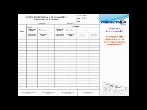 Treinamento Inspetor de Soldagem N1 EAD - Demo - Pequeno trecho de Documentos Técnicos
