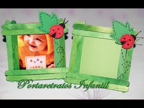 Portarretratos Infantil - DIY - Photo Frame for Childs