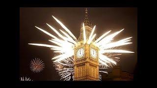 2017 New Year - Big Ben Chimes Midnight