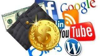Как Заработать Денег в Интернете без Вложений. Бесплатная реклама в социальных сетях