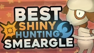 BEST SHINY HUNTING SMEARGLE in Pokémon Sun and Moon! Easy Shiny Hunting Smeargle!