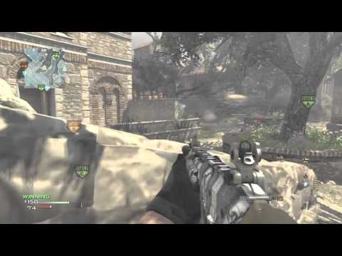 MW3: MOAB On Sanctuary (New DLC Map): 52-2 + 37 Gunstreak!