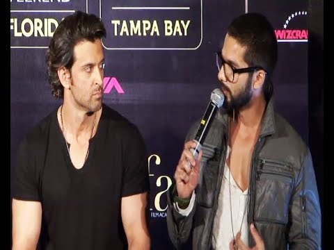 Shahid Kapoor ALL PRAISES for Hrithik Roshan and his dance.