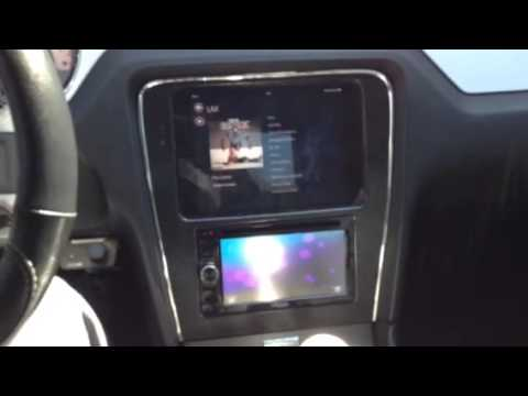 Ipad Mini Install In Mustang Youtube