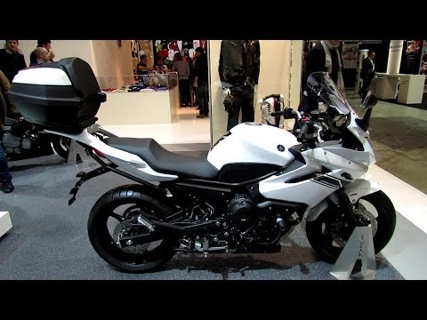 2014 Yamaha XJ6 Diversion Walkaround - 2013 EICMA Milano Motorcycle Exhibition