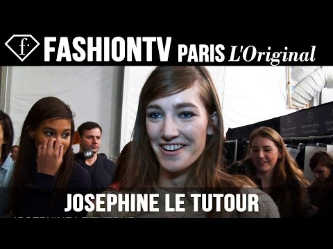 Josephine Le Tutour: My Look Today | Model Talk | FashionTV