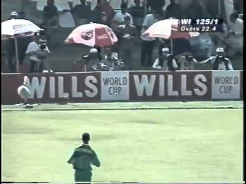 Brian Lara 111 vs South Africa WORLD CUP 1996