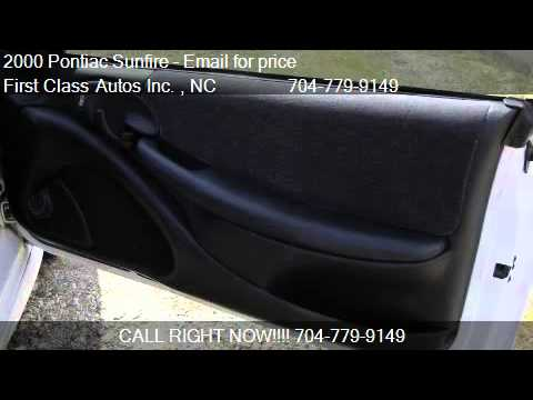 2000 Pontiac Sunfire GT convertible - for sale in Denver, NC