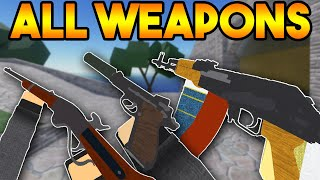 NEW ALL WEAPONS MODE IN ARSENAL! (ROBLOX)