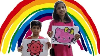 Kids Learn Colours || Drawing for Kids || Fun Playtime with Kids || Educational video