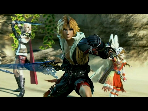 Dissidia: Final Fantasy NT Tidus Gameplay - E3 2017