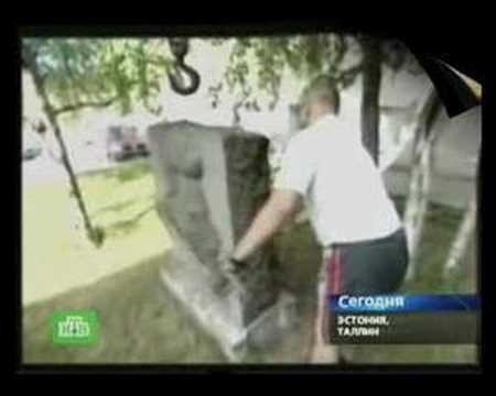 Эстонцы убирают «красный мусор»