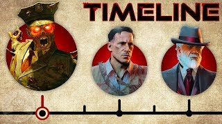 "The Complete Call of Duty Black Ops Zombies ""Aether"" Timeline! 