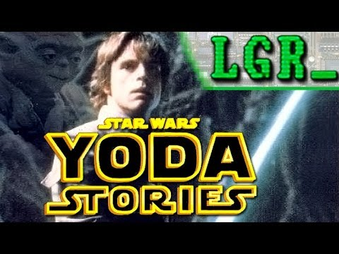 LGR - Star Wars Yoda Stories - PC Game Review