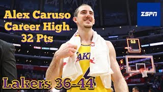 Lakers Beat The LA Clippers 122-117 in Impressive Win, Alex Caruso Career High 32 Pts