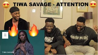 Tiwa Savage - Attention | A COLORS SHOW (REACTION)