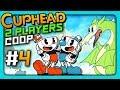 Cuphead 2 PLAYERS CO OP Прохождение 4 ОБОЖЖЕННЫЕ ЗАДЫ mp3