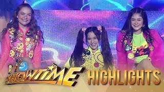 Issa Meaker, Stephanie Robles & Jackie Gonzaga show off their groovy moves | It's Showtime