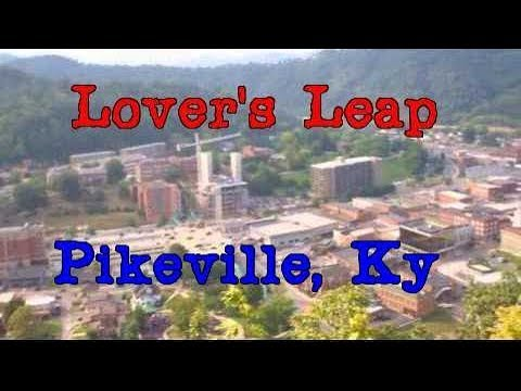 leap pikeville ky walking out on the rock lovers leap pikeville ky