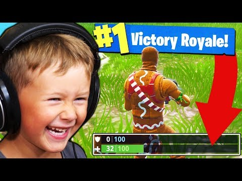 CAN A 5YR OLD WIN A GAME OF FORTNITE?