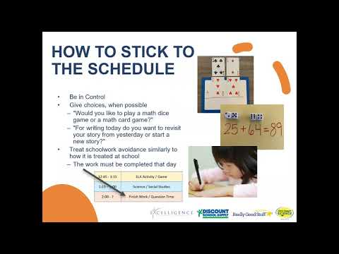 Let's Learn Homeschooling: Time & Space Management at Home During Distance Learning (4/30/20)