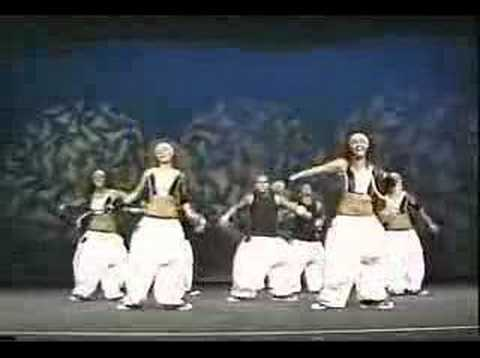 hurricanes(italy) @ World hip hop championship 2005
