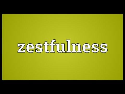 Header of zestfulness