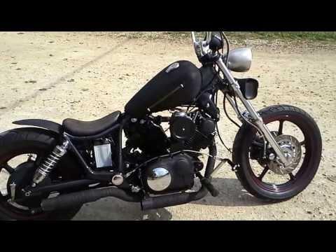 Yamaha virago xv1100 rat bobber. Fast & Loud