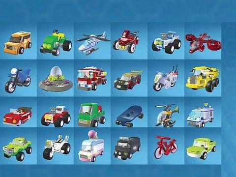 LEGO City Undercover - ALL VEHICLES UNLOCKED - YouTube