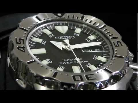 2S Time - SEIKO Diver SKX779K1 Black Monster Steel Bracelet