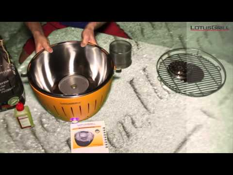 Unboxing LotusGrill Tischgrill Holzkohle » Red Dot Shop