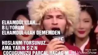 KHABIB  VS Mcgregor Özel Klip 👊👊
