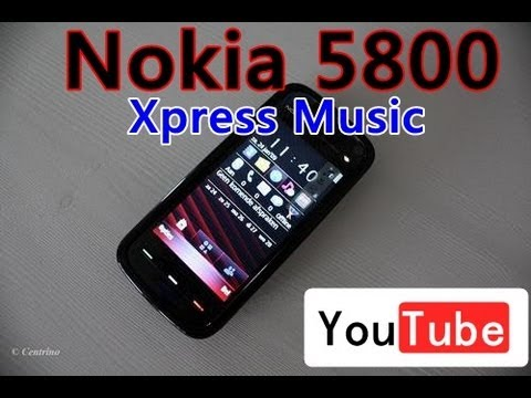 How to disassemble Nokia 5800 Xpress Music