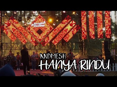 Andmesh Kamaleng - Hanya Rindu | Live BEAUTIFUL MALINO 2019