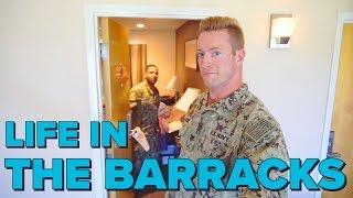 Barracks Life   Military Barracks Room Tour   Life in the Barracks