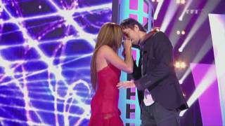 "Enrique Iglesias & Nadyja ""Tired of Being Sorry ""Live& Les Disques D'' Or HD 2009"