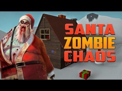 SANTA ZOMBIE CHAOS ★ Left 4 Dead 2 (L4D2 Zombie Games)