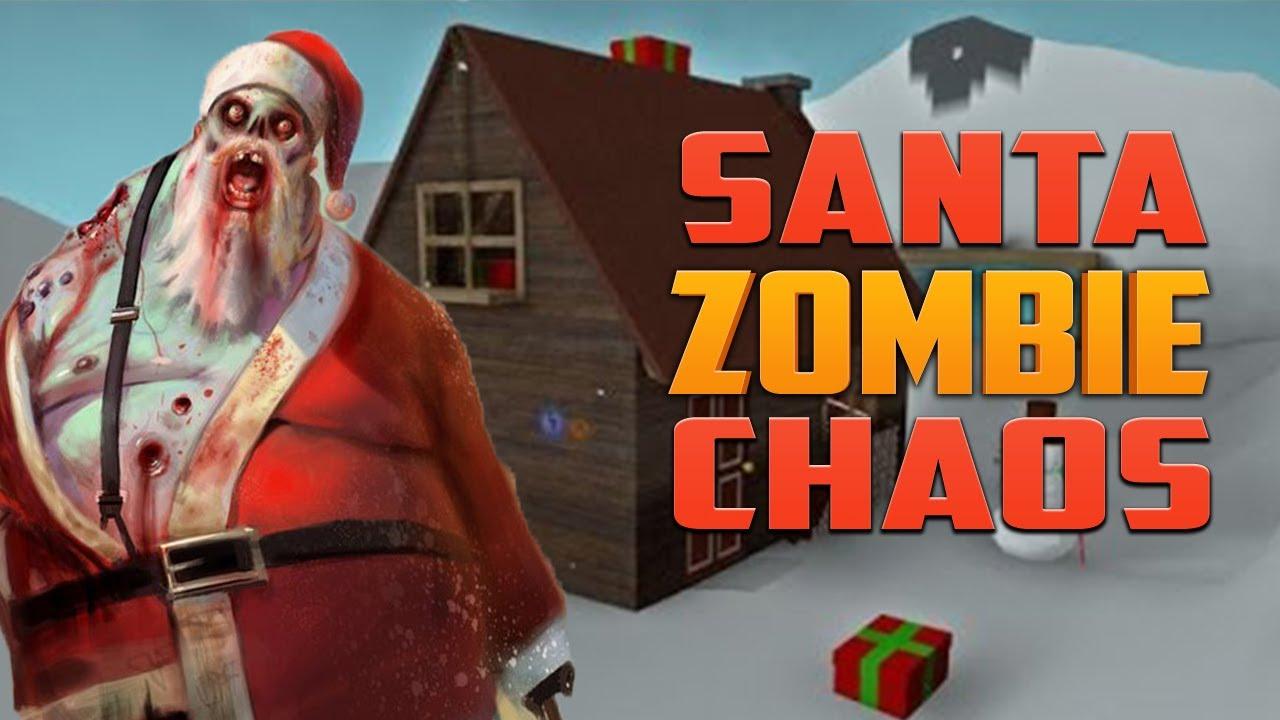 Zombie Santa Game Santa Zombie Chaos ★ Left 4