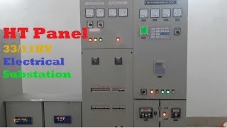 HT Panel installed (33/11KV) Inside an Electrical Substation | High Transmission Panel | A TO Z TV