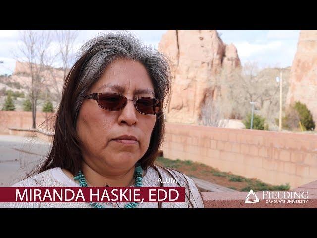 Miranda Haskie, PhD | Faculty, Fielding Graduate University | Navajo Nation