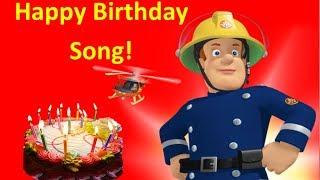 Fireman Sam Happy Birthday Song USA/UK