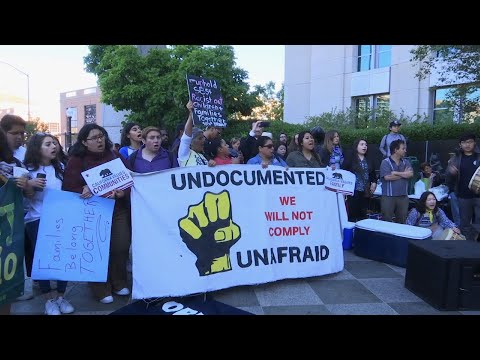 Trump Immigration Policy Protest in California