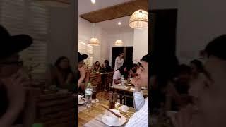 Hoa khôi Nam Em khai trương nhà hàng bán món ăn đặc sản miền Tây (18/8/2017)